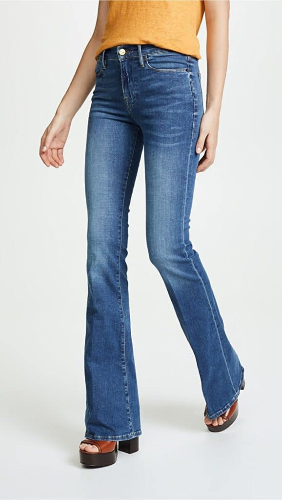 Spring isn't too far off so I'm ready to start finding some new pieces to incorporate into my wardrobe. One of the denim trends I would like to try is the wide leg trend. Those can be pretty easy to find at the thrift store, so I should be able to snatch some up.