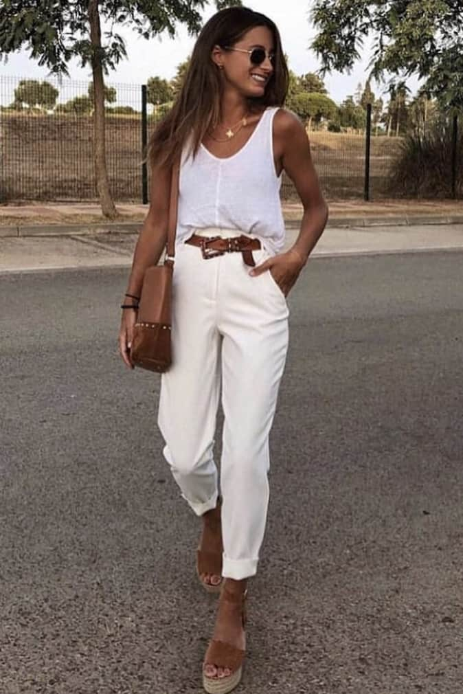 Spring isn't too far off so I'm ready to start finding some new pieces to incorporate into my wardrobe. I'm on the hunt for some fitted white trousers which I can wear more casually. Find out what trends and other pieces I have on my thrift list this season.