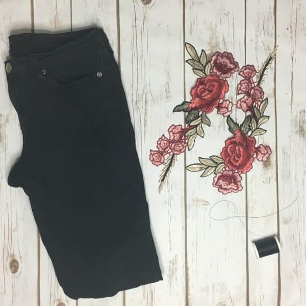 Get the look Embroidered Denim3