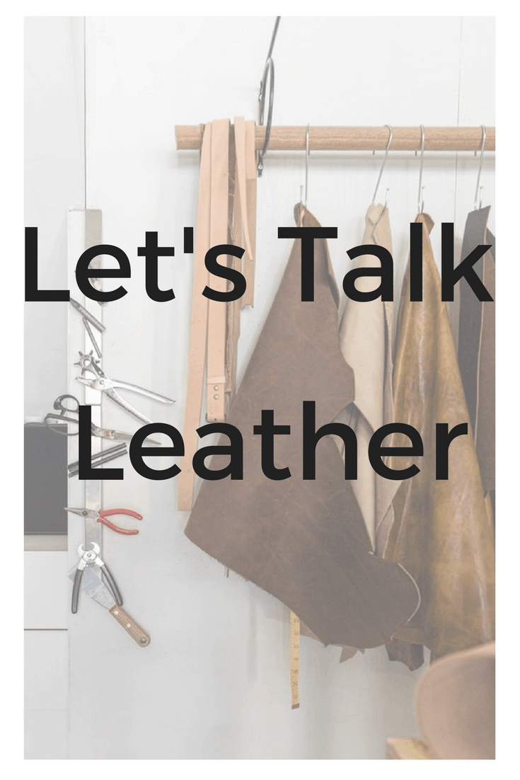 Let's Talk Leather