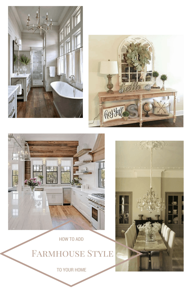 How to Incorporate Farmhouse Style into your Home