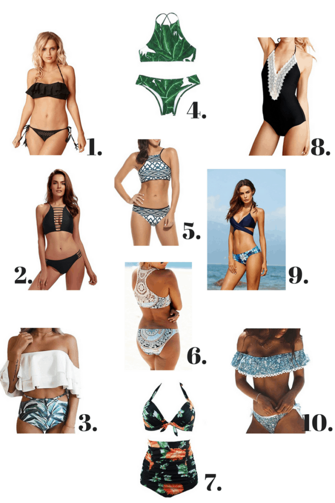 10 swimsuits under $25