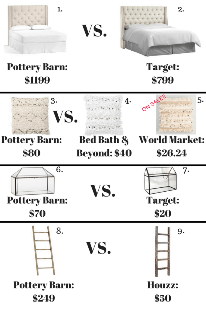 pottery barn looks for less