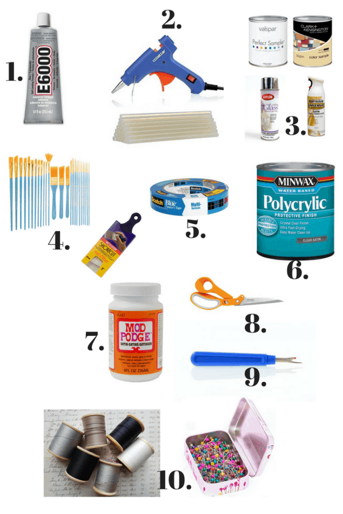 10 Craft Arsenal Must Haves | Thrifted & Taylor'd | www.thriftedandtaylord.com