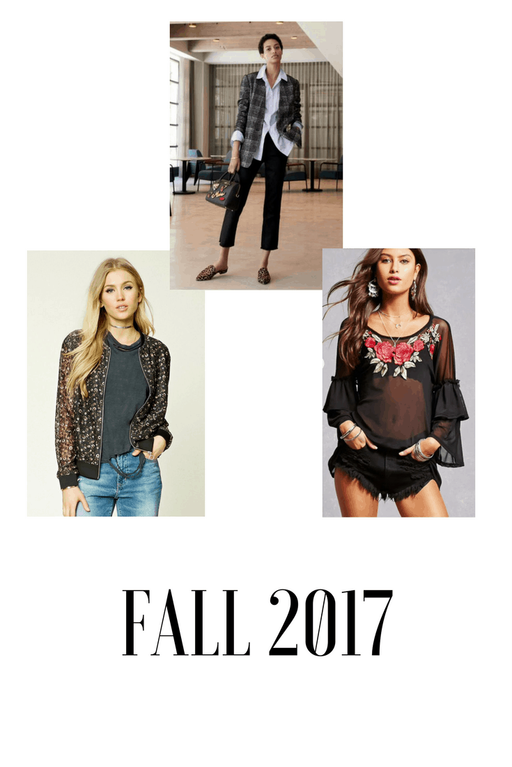 How To Wear Fall 2017 Fashion Trends