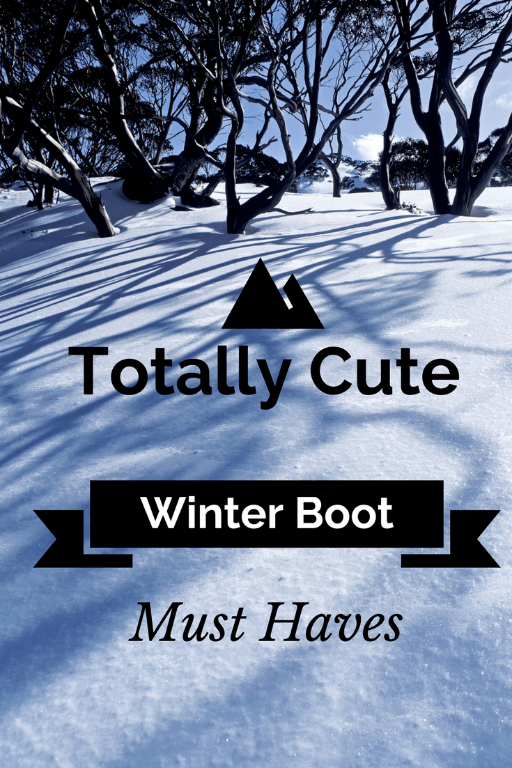 Totally Cute Winter Boots