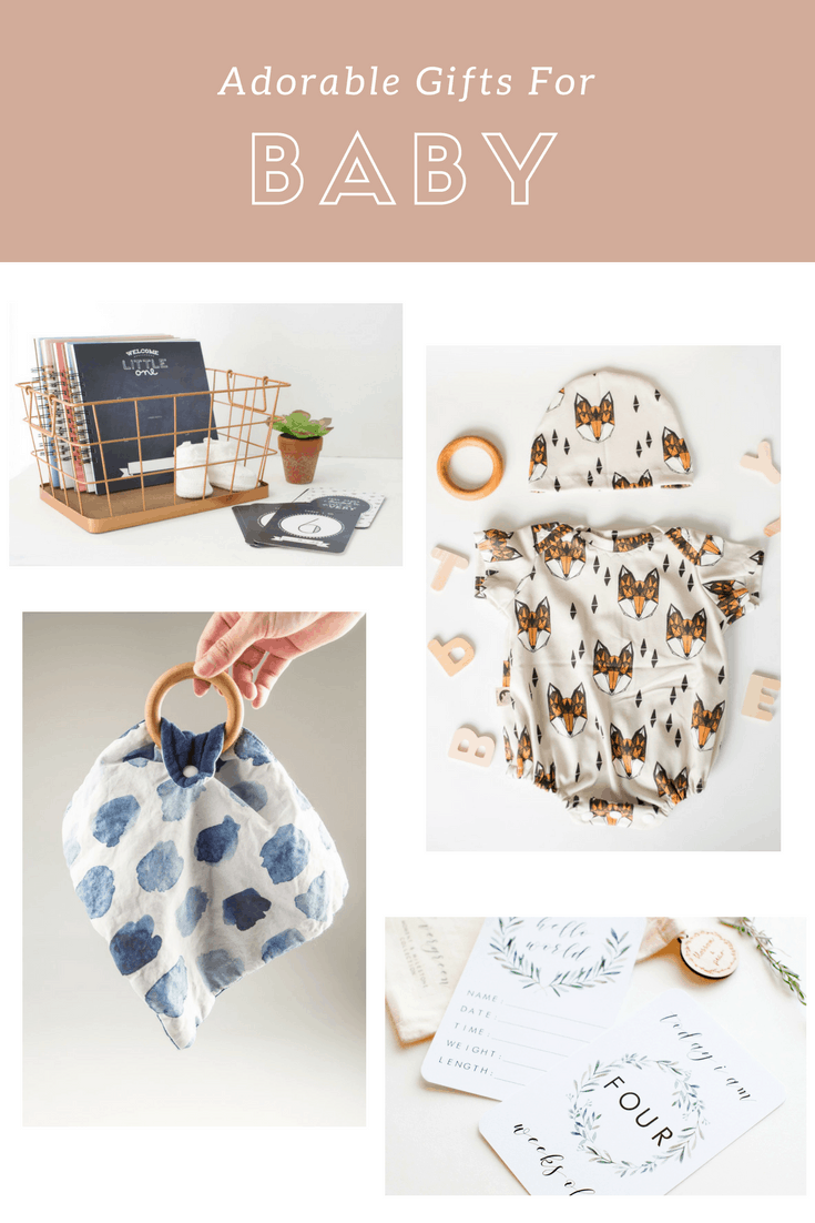 Totally Adorable Gifts for Baby