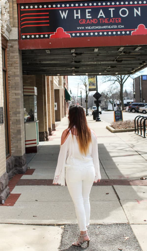 The Lookbook   All White   Hhow to wear all white   Thrifted & Taylor'd