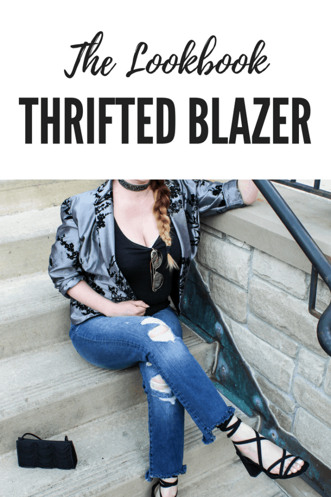 The Lookbook   Thrifted Blazer   Styling Thrift Store Finds   Thrifted & Taylor'd