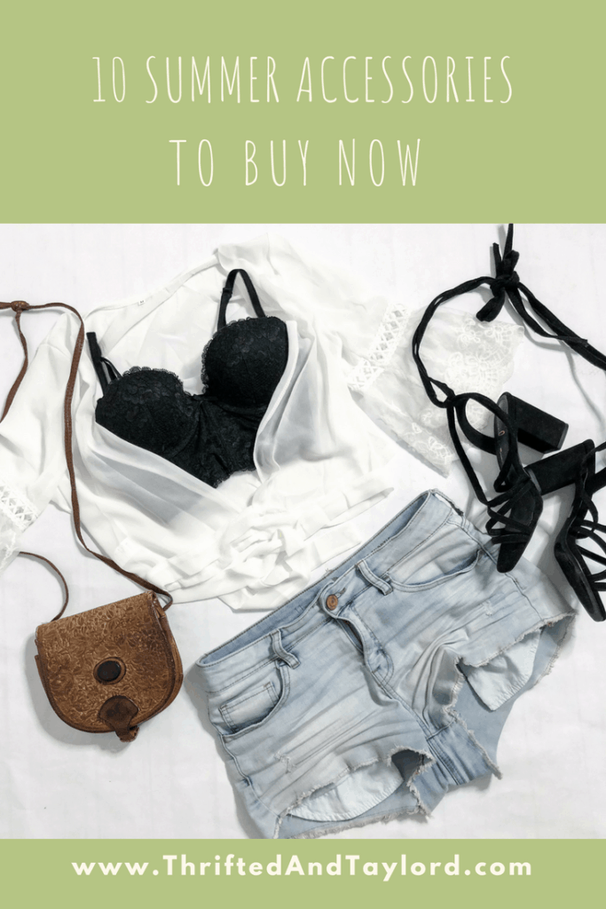 10 Summer Accessories to Buy Now   Thrifted and Taylor'd