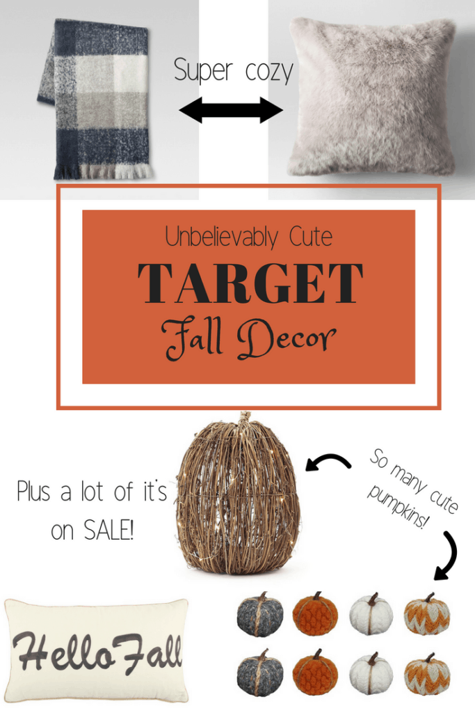 Target Fall Decor   Thrifted & Taylor'd