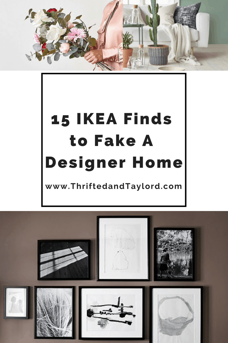 15 IKEA Finds to Fake A Designer Home
