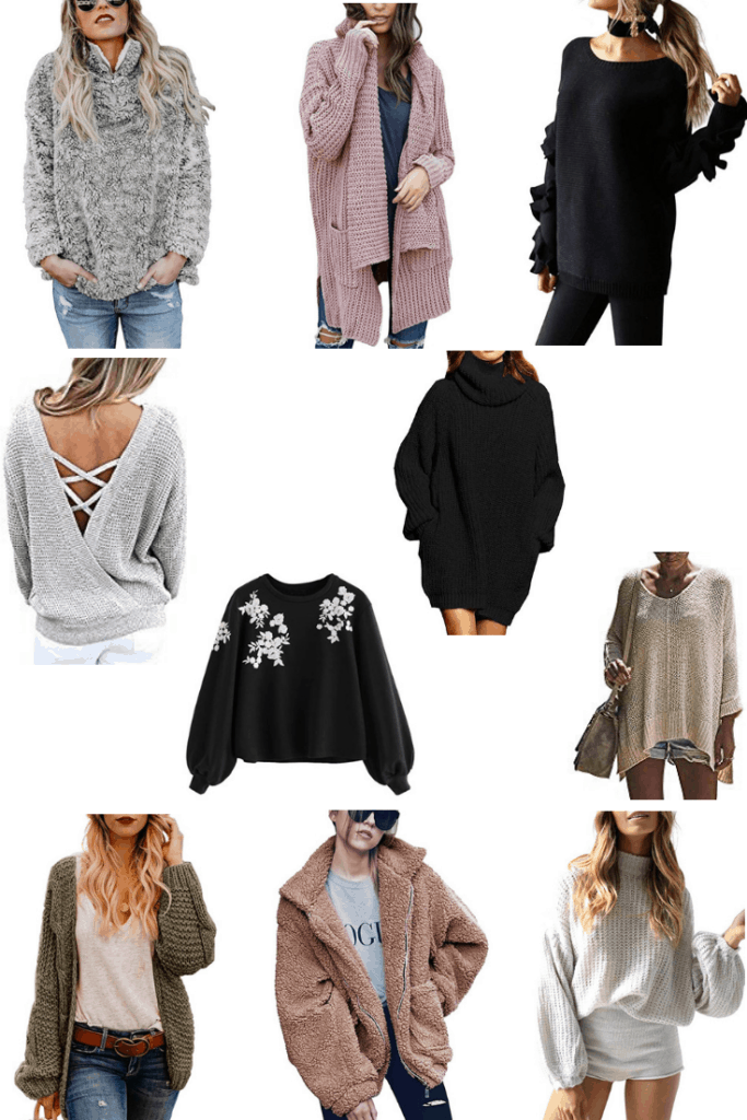 10 Highly Rated Sweaters on Amazon Under $35   Thrifted & Taylor'd   #sweaters #fall # fallfashion #bargainshopping