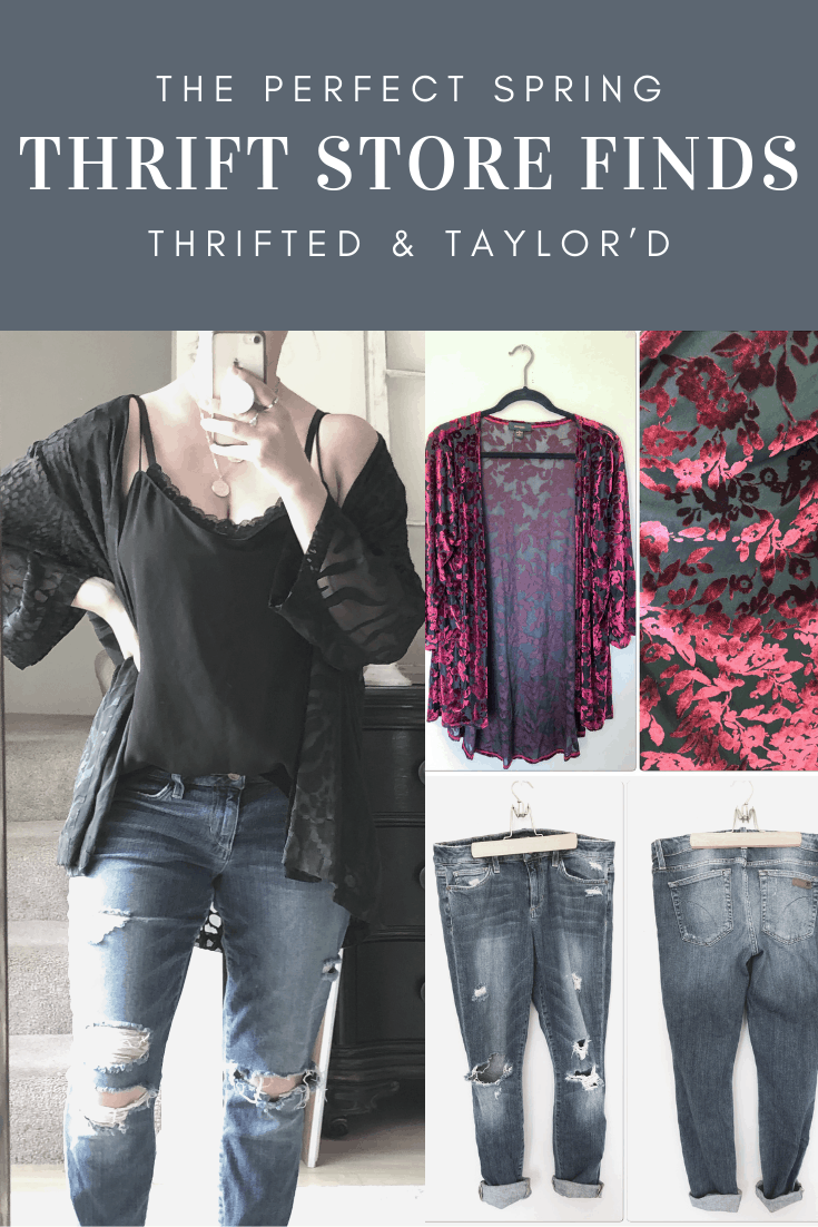 The Perfect Spring Thrift Store Finds