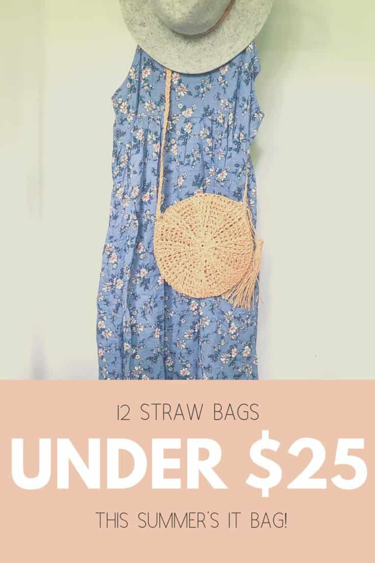 12 Straw Bags Under $25 | Summer's It Bag