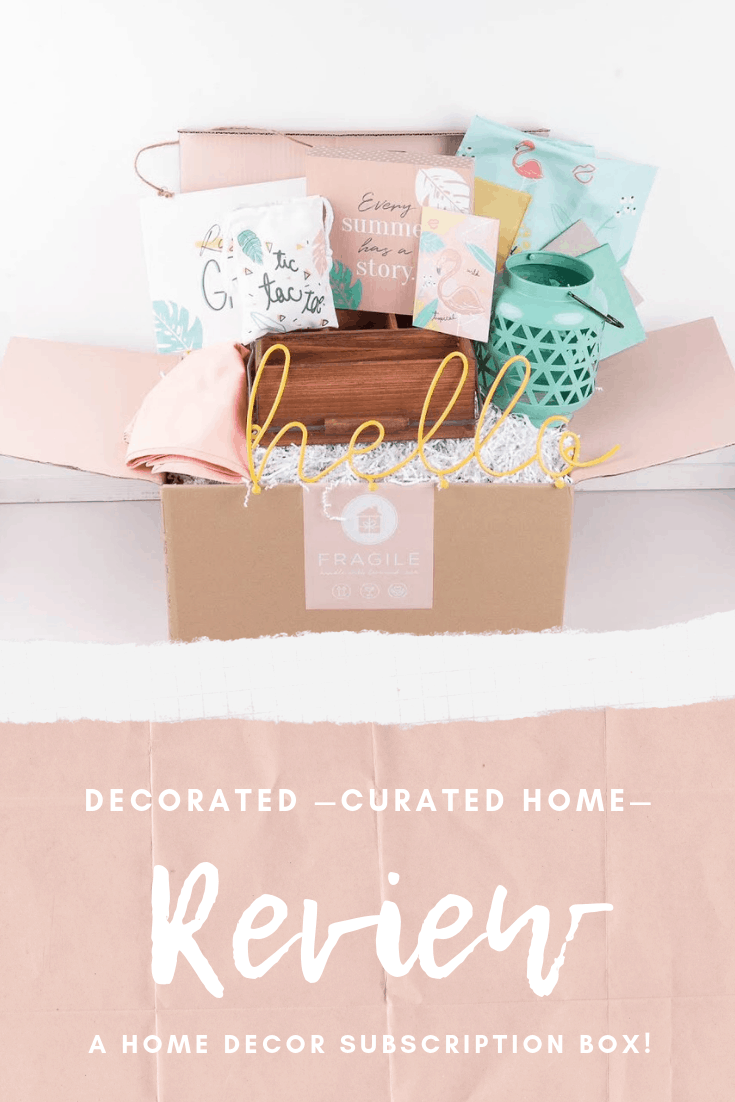 Decocrated Subscription Box Review | Home Decor