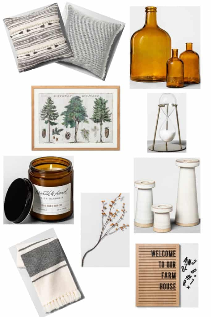my top 10 favorite pieces from the new Hearth & Hand fall collection. The perfect modern farmhouse style decor to add some warmth and fall vibes to your home.