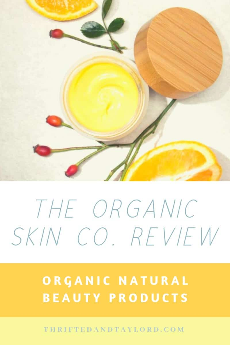 The Organic Skin Co. Review|Organic Natural Beauty Products