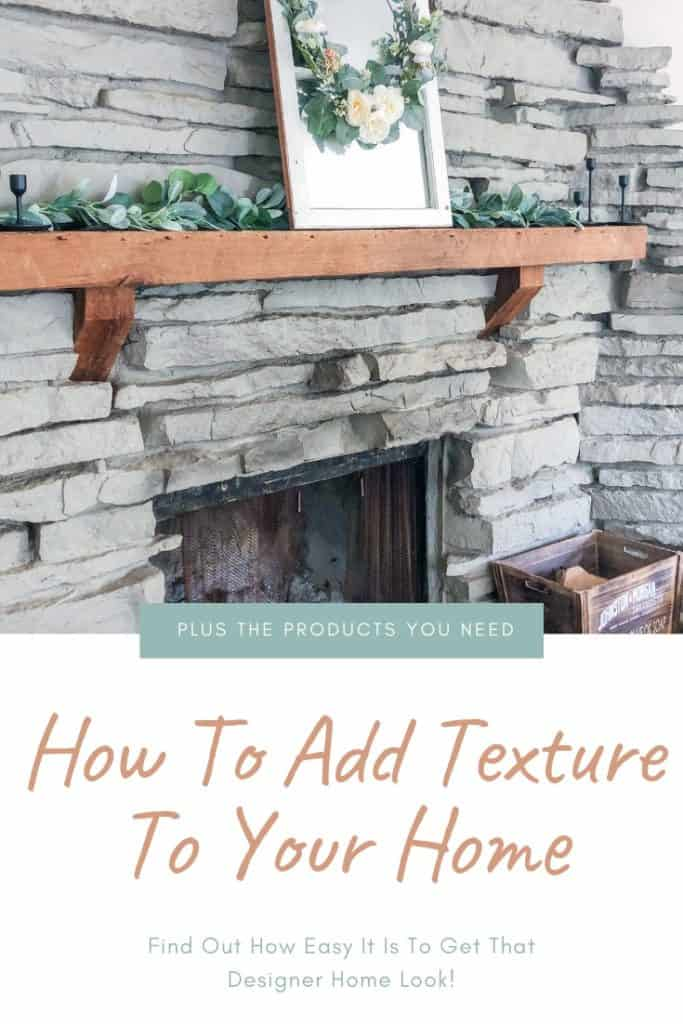 All the tips you need to add texture to your home just like the pros! It is much easier than you think. The options are endless and you can fine tune it to fit your own style. Learn how!