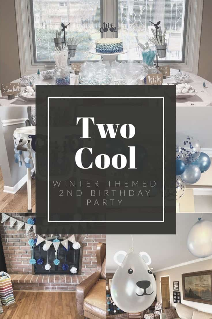 Two Cool Birthday Party | A Winter Themed 2nd Birthday