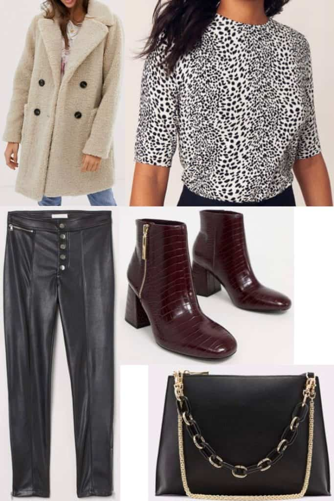 In need of some outfits to wear for Thanksgiving? Check out these 5 options which are trendy and won't break the bank. This Thanksgiving outfit is perfect if you want something that is a mix of classy and a touch sexy while being just a little dressed up. This is also perfect if you live in a colder climate and need to bundle up.