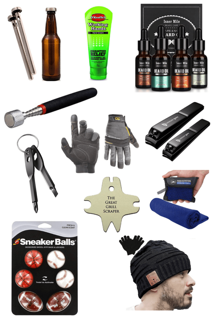 Stocking stuffers can be hard. Do you go practical, funny, cool, tasty? I found 33 stocking stuffers under $20, check out these ones that would be perfect for him!