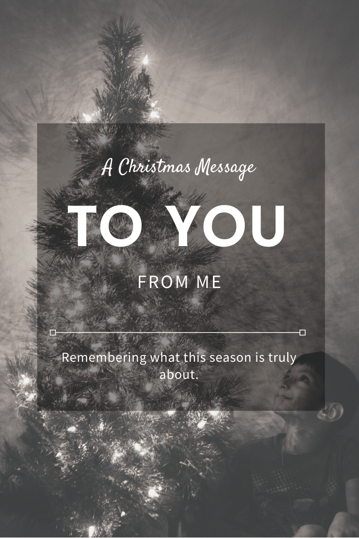 May Your Days Be Merry & Bright | My Christmas Message To You