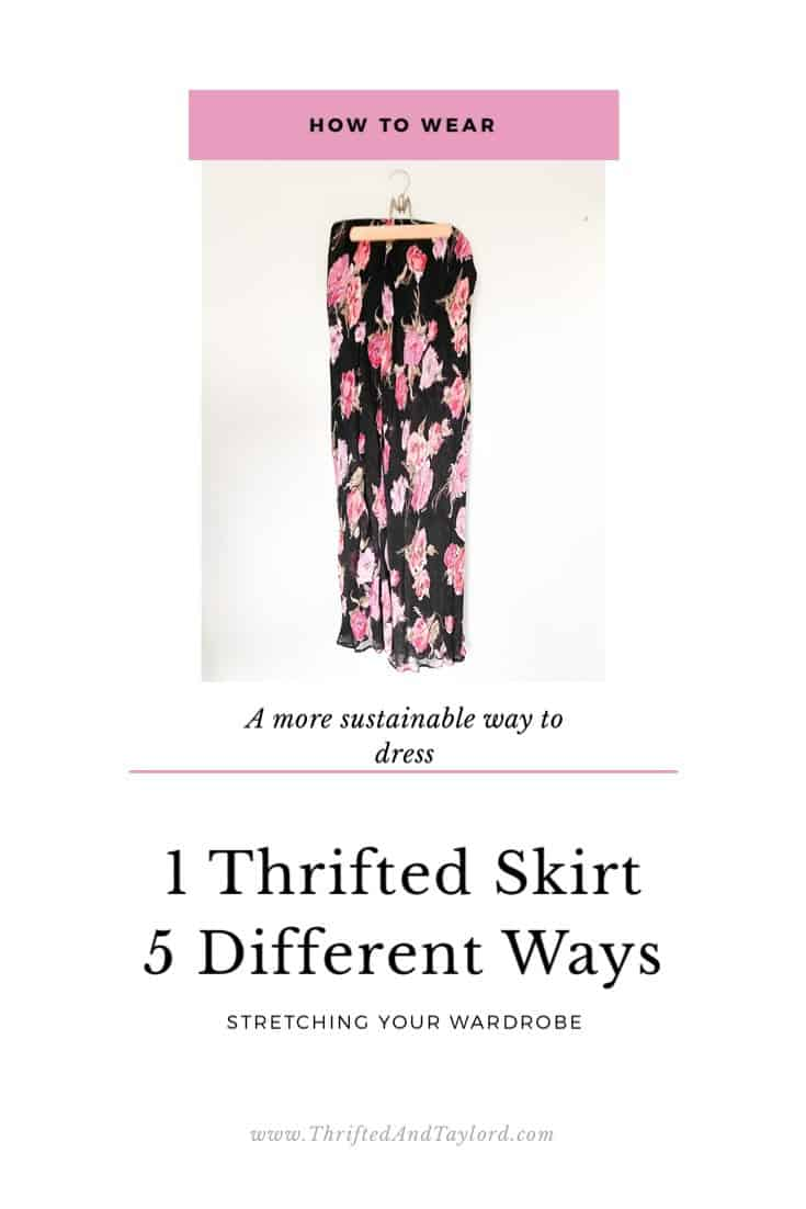 How to Stretch Your Wardrobe | Living More Sustainably