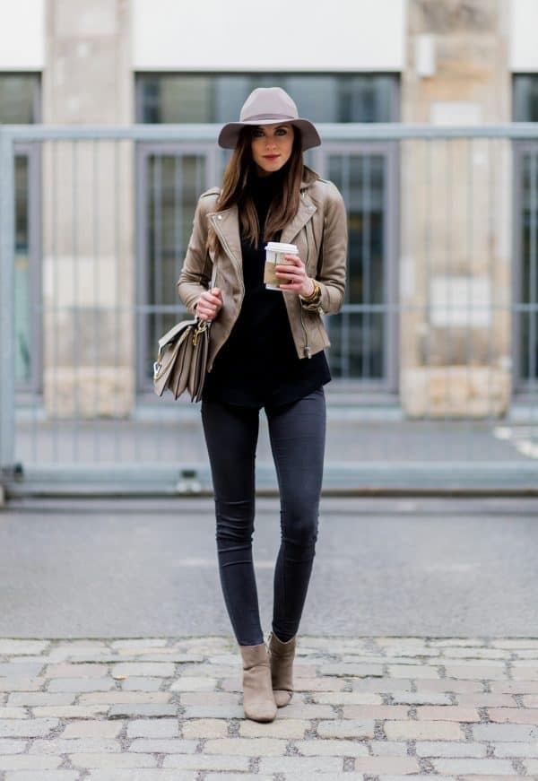 Tossing on a light jacket is perfect for your winter to spring wardrobe transition. Trade out your big bulky coats for something lighter and more springy to still keep you warm on the cooler spring days. Check out 6 other ways to take your wardrobe from winter to spring!