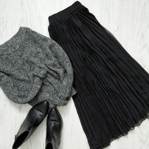 Wear your winter sweaters into spring by pairing them with skirts, shorts, cropped or light weight pants. A great winter to spring wardrobe transition if you're not ready to say goodbye to your cozy sweaters yet. Check out 6 other great ways to make the switch!