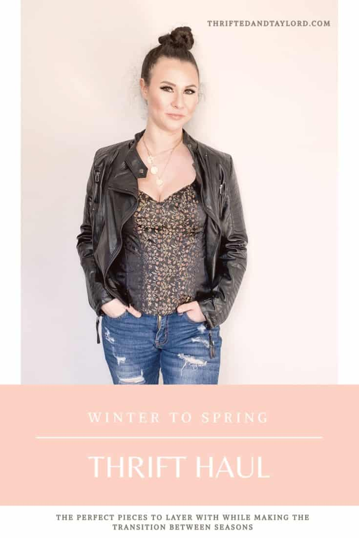 Winter to Spring Thrift Haul