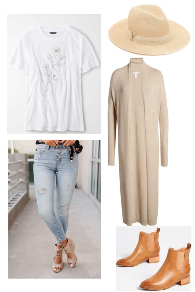 Looking to keep it a little more casual this Easter? Check out these casual Easter outfits I put together ranging from jeans and a tee to a sundress.