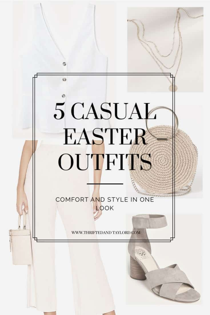 5 Casual Easter Outfits | Style and Comfort in 1 Look