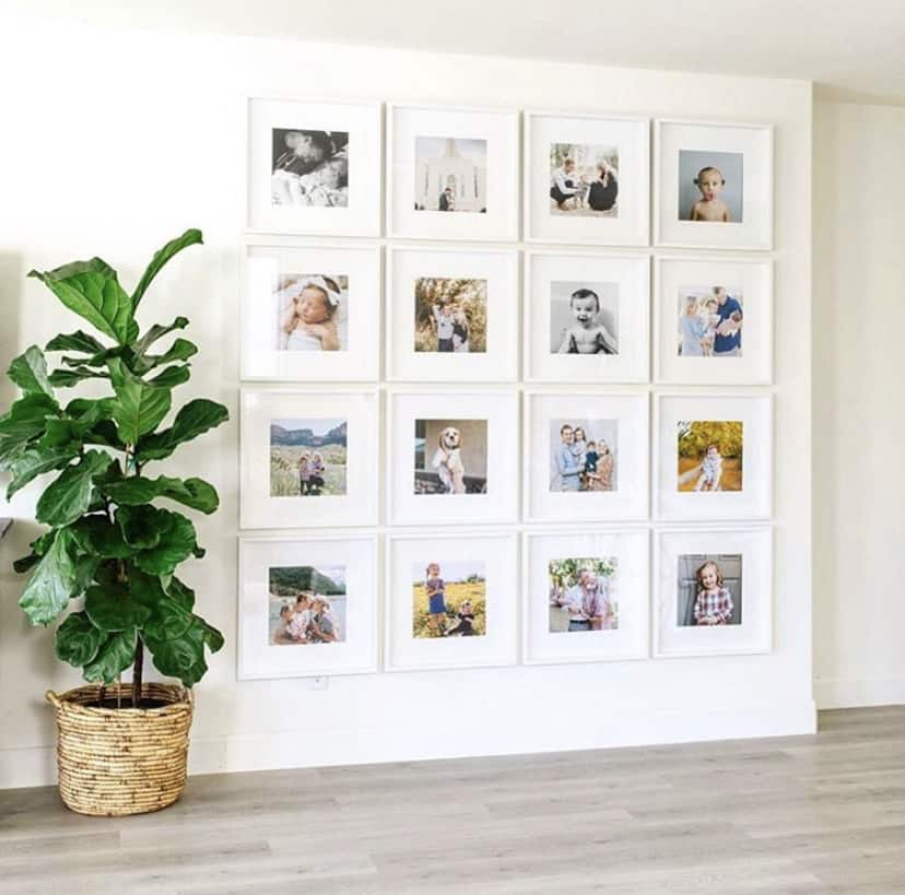 These simple home decorating tips are all you need to have you decorating like an interior designer. Get a gallery wall the easy way by using several large frames for your photos or artwork.
