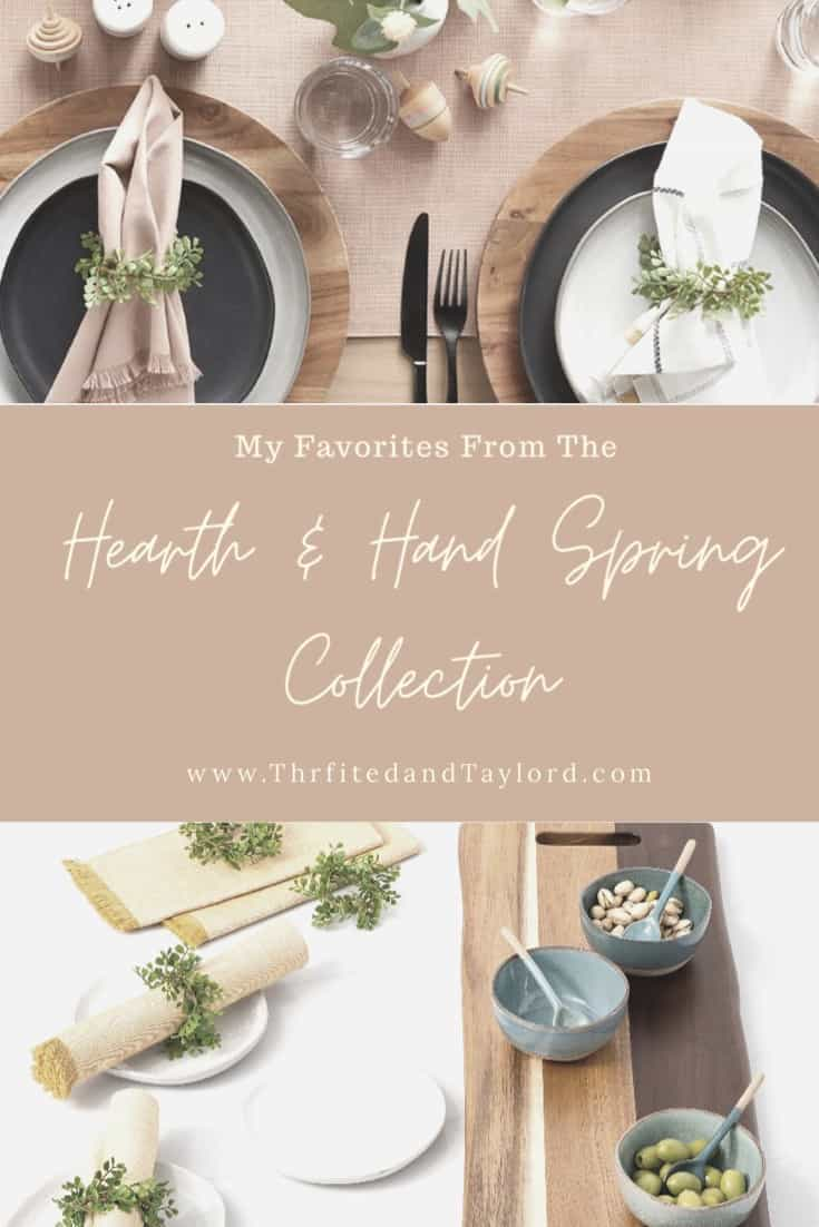 Hearth and Hand Spring Collection Favorites