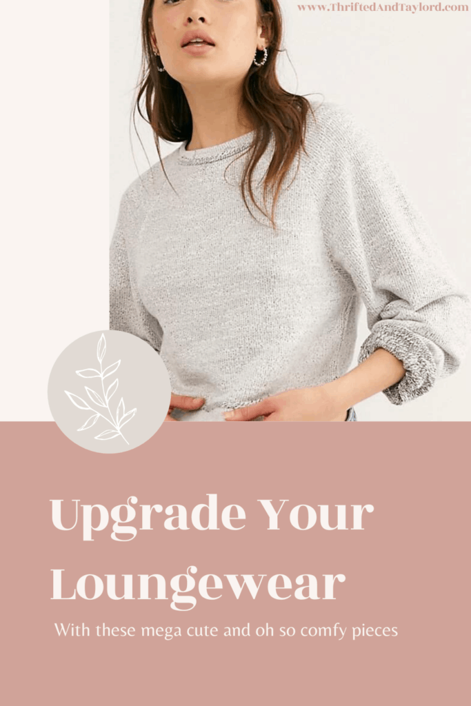 Looking to upgrade your loungewear? This is the perfect time since we all are spending so much more time at home. Check out these 22 cute and comfortable pieces that are just what you need to give your loungewear a little pick me up.