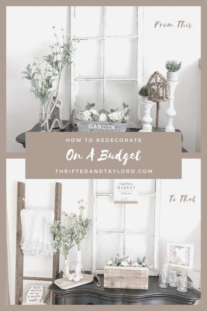 You might be surprised by how easy it can be to redecorate on a budget. Find out a few simple ways to do this in your own home!