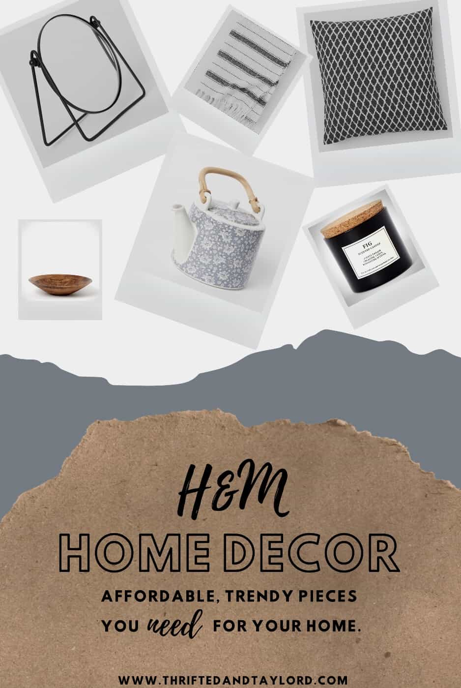 H&M Home Decor | Affordable and Trendy Must Haves