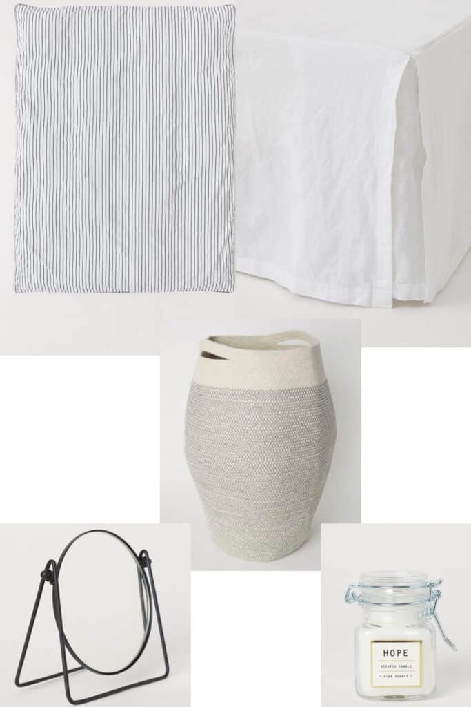 Did you know about the H&M home decor section? They have tons of great things for super affordable prices. Check out some of my favorites!
