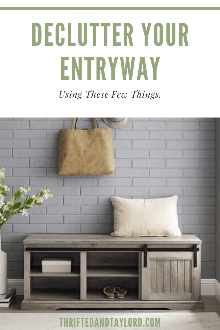 How To Declutter Your Entryway