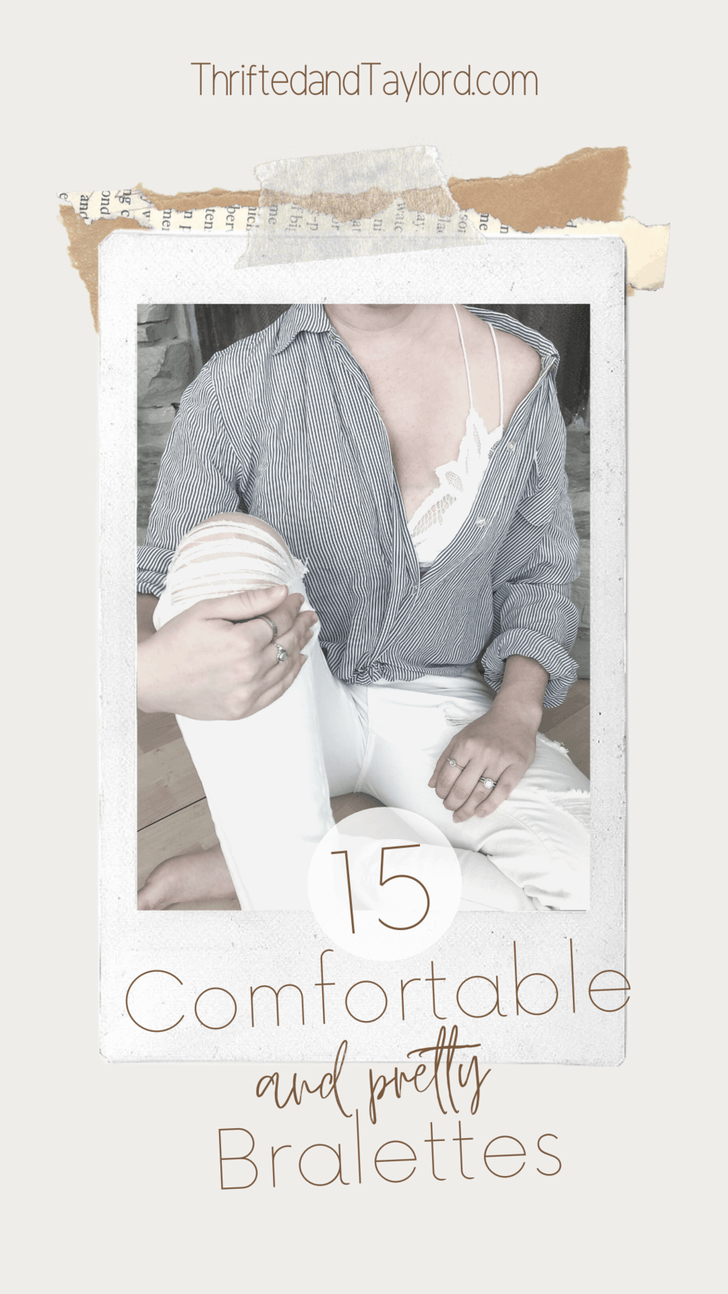 15 Comfortable and Pretty Bralettes | Look AND Feel Good