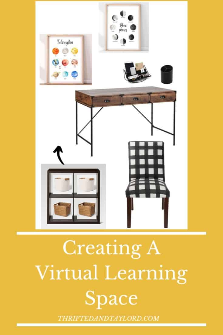 Creating A Virtual Learning Space in Your Home