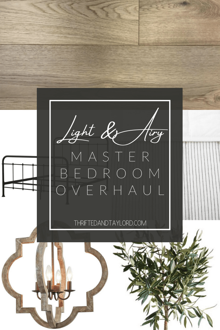 Light and Airy Master Bedroom Overhaul