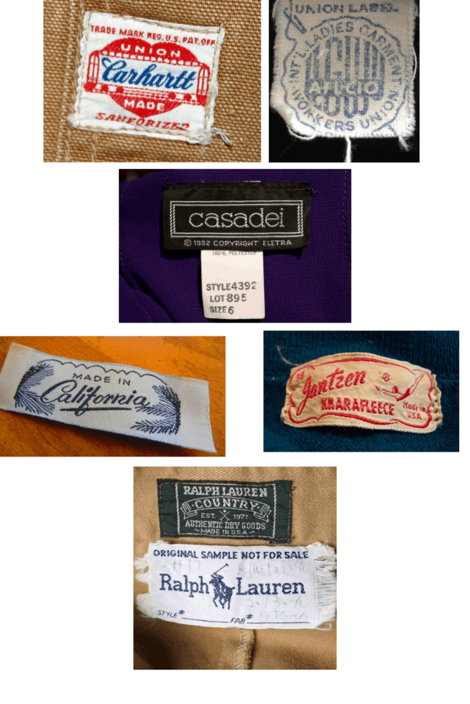 Finding vintage clothing by checking labels is one of the many thrifting tips and tricks I have listed for you to be able to shop like the pros! Come check out the rest and make your thrifting trips awesome every time.