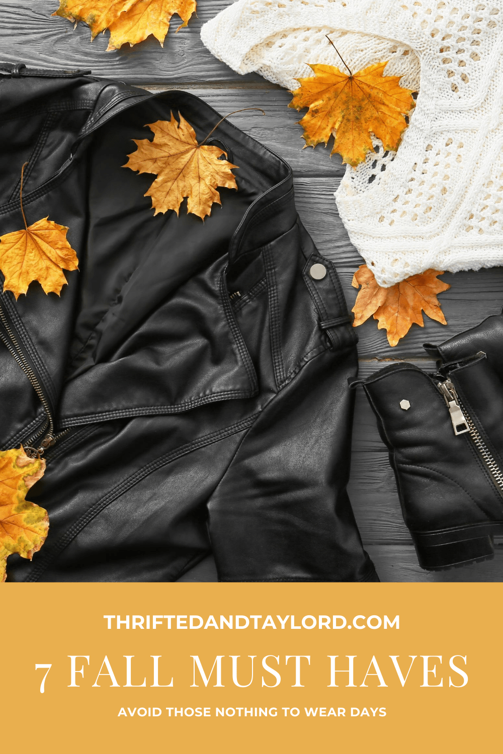 7 Fall Must Haves To Avoid Those Nothing To Wear Days