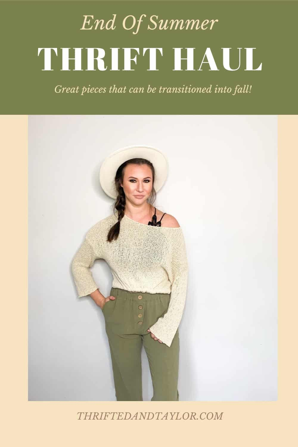 End of Summer Thrift Haul | Perfect Transition Pieces