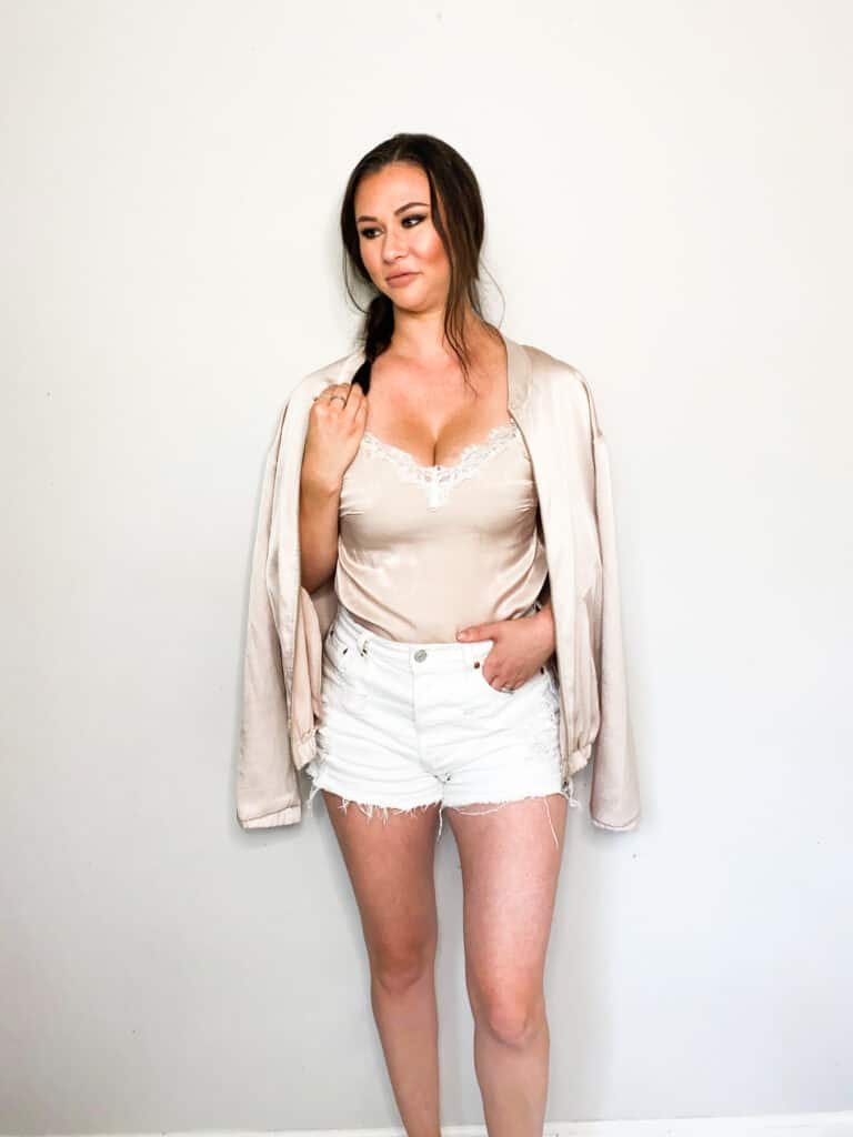 As we move closer and closer to fall it's time to start thinking about wardrobe transitions. This satin camisole that I picked up in this end of summer thrift haul are perfect to transition into fall. Check out the other great pieces I picked up and how I plan to wear them into the fall!
