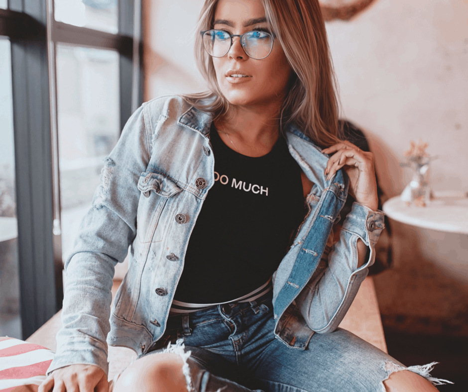 Denim jackets are a fall wardrobe staple. Check out what other fall staples you need in your closet!