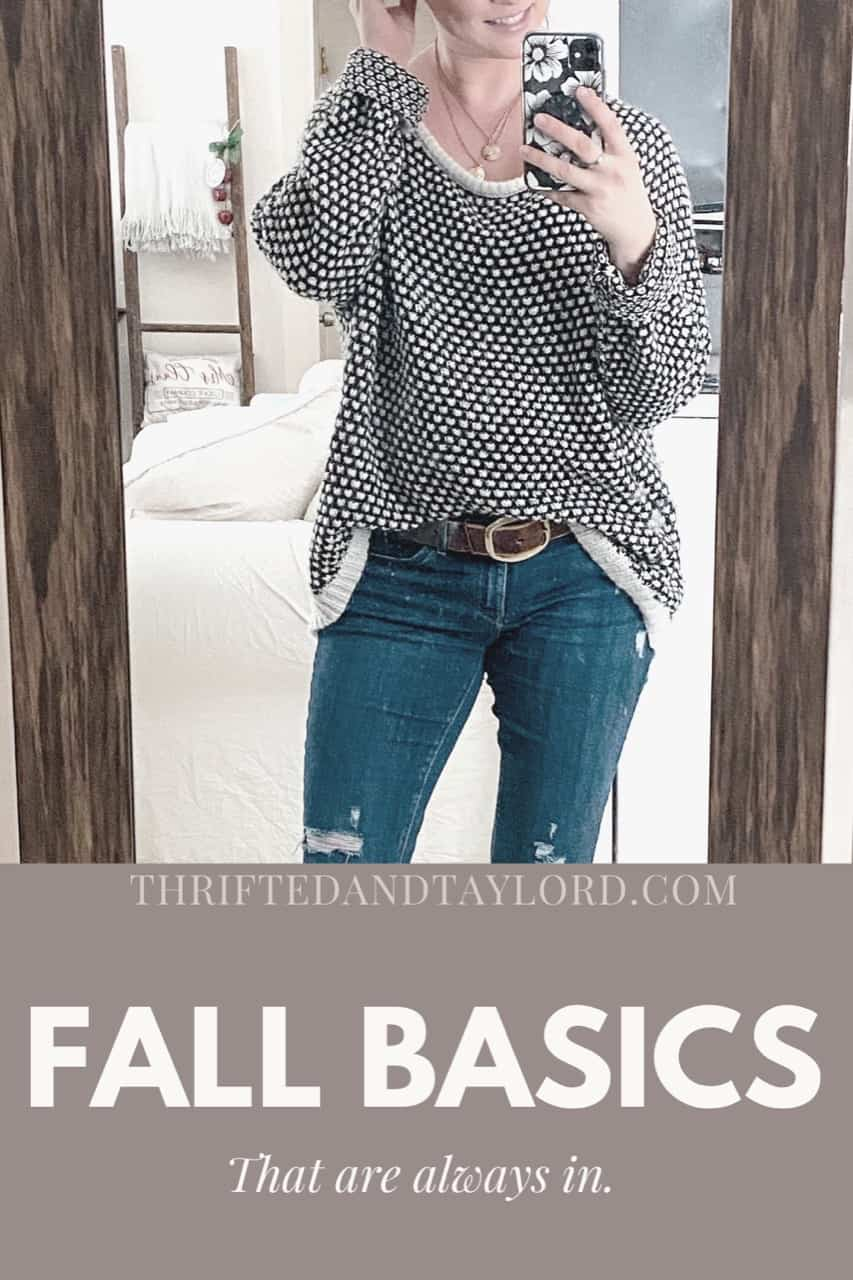 Fall Basics That Are Always In Style