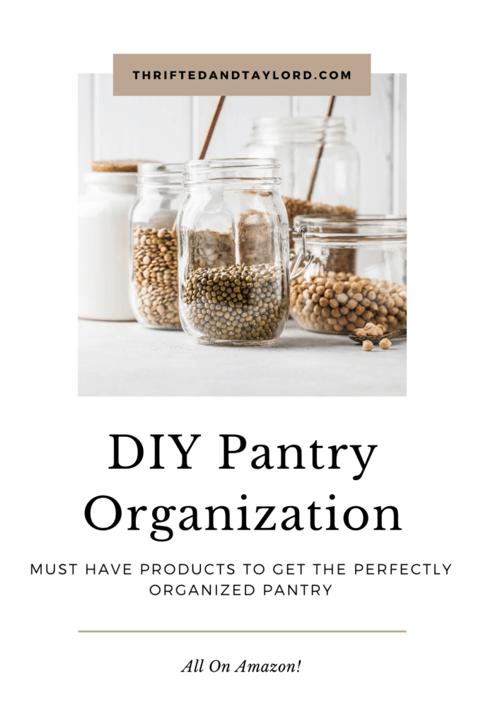 In need of some pantry organization? Come check out some great inspiration as well as some must have organization products on Amazon and get your organization on!
